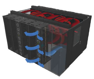 APC Hot Aisle Server Rack Containment