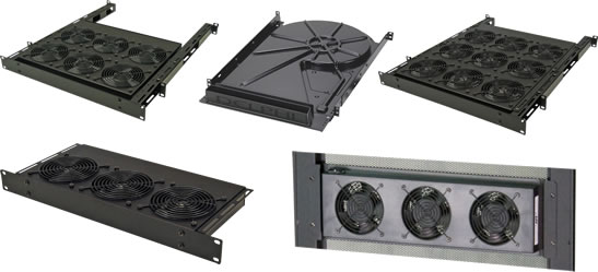 Server Rack Fans and Rack Mount Fan Assemblies