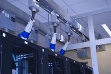 Simplex Airblock Data Center Curtains