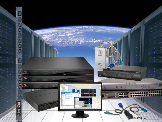 Leading KVM over IP solutions including Avocent IP KVM products and Raritan enterprise-class KVM over IP Switches.