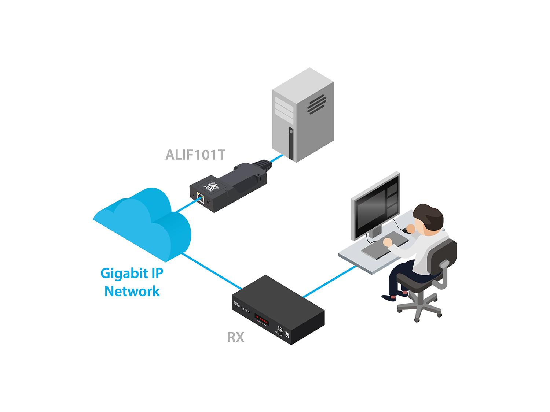 ALIF101T-DP Transmitter Diagram