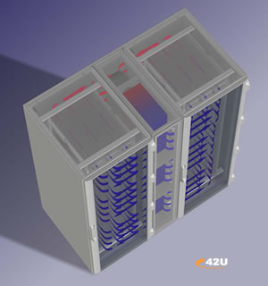 Rittal LCP - High Density In-Rack Cooling
