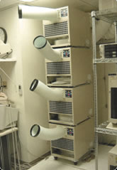 Server Room Air Conditioner Application Example