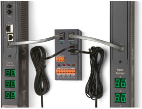 Servertech Rack Based Environmental Monitoring via CDU