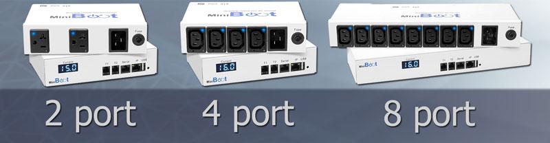 MiniBoot 2-4-8 ports