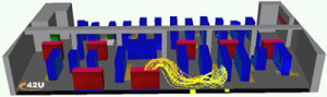 CFD Modeling Layout