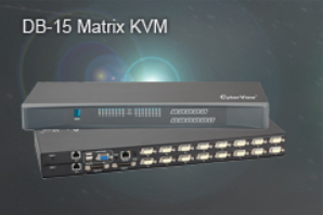 DB-15 Matrix KVM