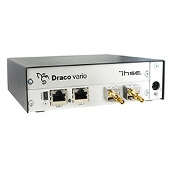 ihse Draco OPS+ direct pluggable KVM extender Wins NewBay's Best of Show Award, Presented by Sound & Video Contractor and Government Video nab show 2017 42u data center solutions
