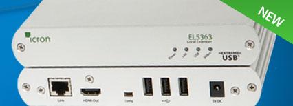 Icron EL5363-HDMI-USB-2-0-kvm-extender