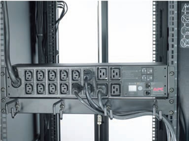 APC Metered PDU Installation Example