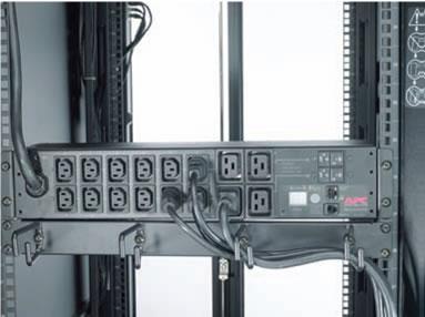 APC Metered PDU Installation Example