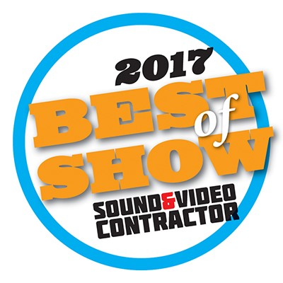 best in show sound and video contractor 2017
