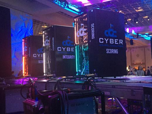 Bling Your Cabinets Cyber Grand Challenge 2016 Lights