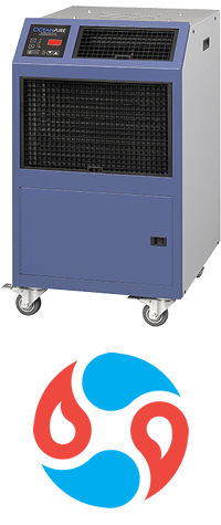 42u data center solutions oceanaire air conditioning heat and cool air cooled